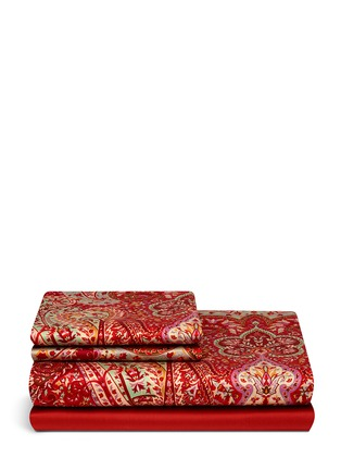 Main View - Click To Enlarge - Etro - Lindsey Avon paisley print king size duvet set