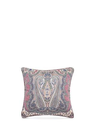 Main View - Click To Enlarge - Etro - Zanzibar Brunei paisley print cushion
