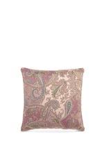 Zanzibar Dominca paisley print cushion
