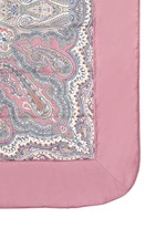 Zanzibar Brunei paisley print king size bed cover