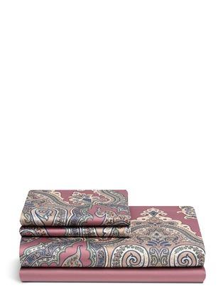 Etro-Zanzibar Brunei paisley print king size duvet set