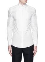 'Gold' wingtip collar pleat bib tuxedo shirt