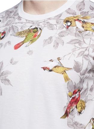 Detail View - Click To Enlarge - Dolce & Gabbana - Bird print T-shirt