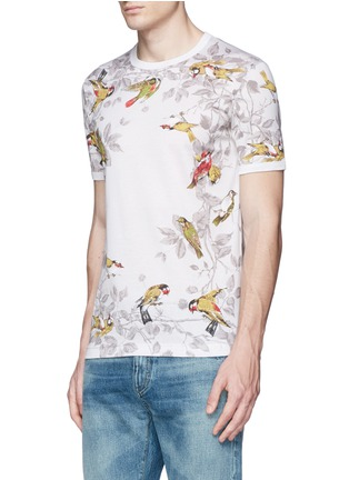 Front View - Click To Enlarge - Dolce & Gabbana - Bird print T-shirt
