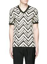 Zigzag print T-shirt