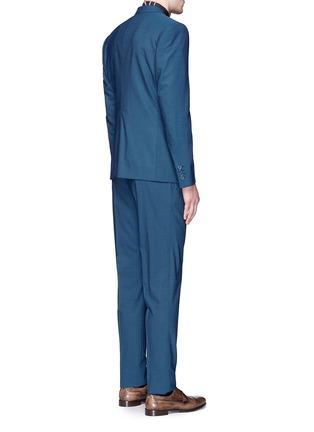 背面 - 点击放大 - DOLCE & GABBANA - 纯色羊毛连马甲西服套装