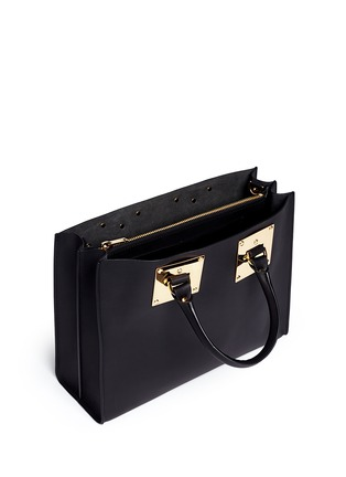 Detail View - Click To Enlarge - Sophie Hulme - E/W Albion' soft leather satchel