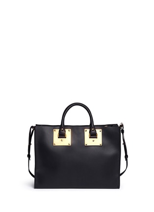 Back View - Click To Enlarge - Sophie Hulme - E/W Albion' soft leather satchel