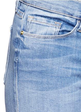 Detail View - Click To Enlarge - Frame Denim - 'Le Skinny De Jeanne' distressed jeans