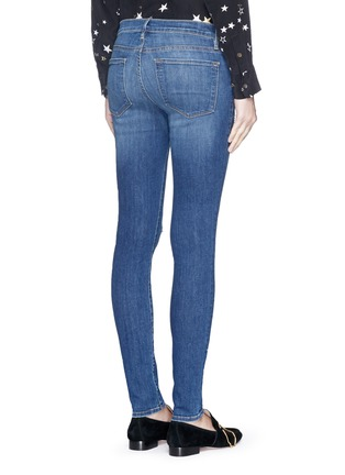 Back View - Click To Enlarge - Frame Denim - 'Le Skinny de Jeanne' ripped jeans