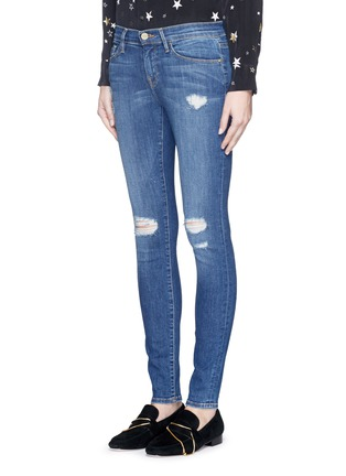 Front View - Click To Enlarge - Frame Denim - 'Le Skinny de Jeanne' ripped jeans
