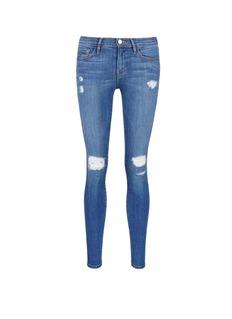 FRAME DENIM'Le Skinny de Jeanne' ripped jeans