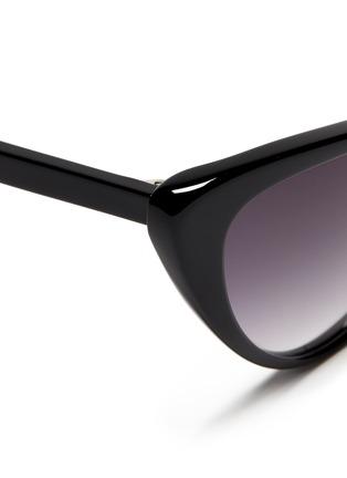 Detail View - Click To Enlarge - Spektre - 'Eva' acetate cat eye sunglasses