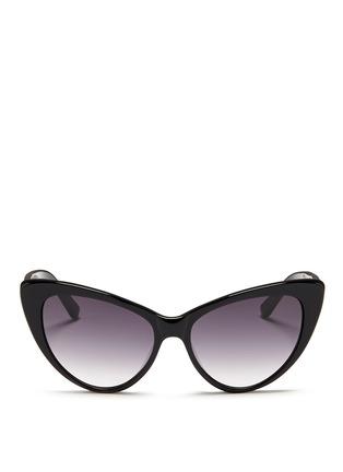 Main View - Click To Enlarge - Spektre - 'Eva' acetate cat eye sunglasses