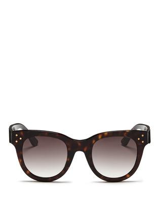 Spektre-'She Loves You' tortoiseshell effect acetate sunglasses