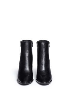 ASH'Farah' zip back leather ankle boots