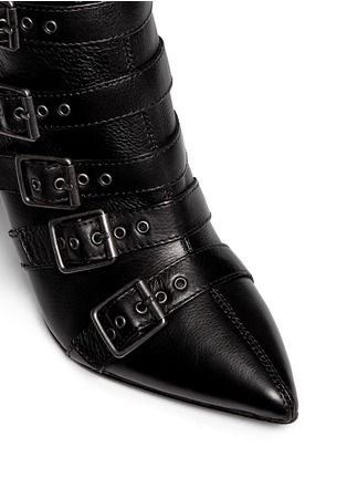 Detail View - Click To Enlarge - Ash - 'Cash' multi buckle leather boots