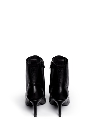 Back View - Click To Enlarge - Ash - 'Dagger' lace-up leather ankle boots