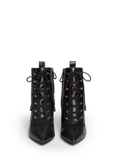 ASH'Dagger' lace-up leather ankle boots