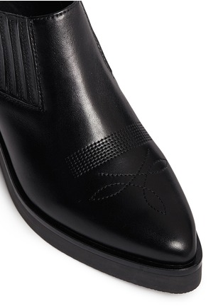 Detail View - Click To Enlarge - Ash - 'Sheryl' leather cowboy booties