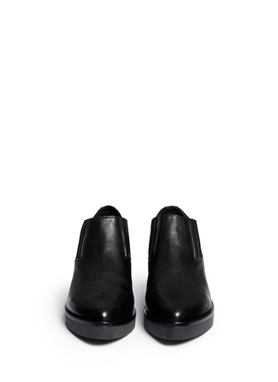 Figure View - Click To Enlarge - Ash - 'Sheryl' leather cowboy booties