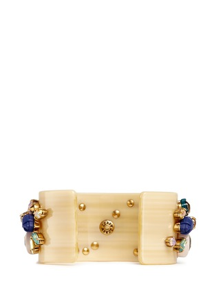 Back View - Click To Enlarge - J.CREW - Crystal cuff bracelet