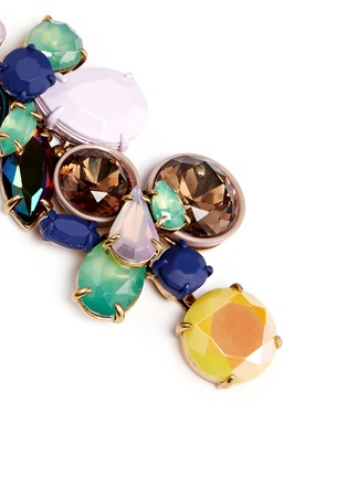 Detail View - Click To Enlarge - J.CREW - Gem cluster earrings