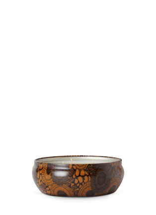 Main View - Click To Enlarge - VOLUSPA - JAPONICA - 3-WICK CANDLE IN DECORATIVE TIN - BALTIC AMBER