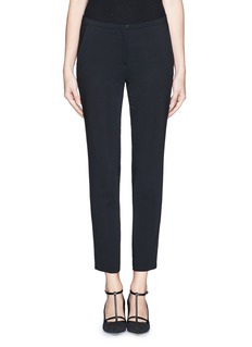 NO. 21 Cropped slim fit tailored pants