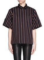 TOGA ARCHIVES Pinstripe box shirt