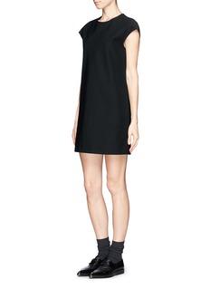 THE ROW'Beate' cap sleeve shift dress