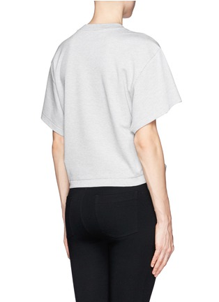 Back View - Click To Enlarge - TOGA ARCHIVES - Side bow T-shirt