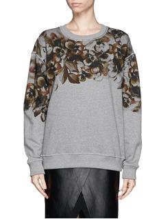 JASON WUFloral print sweatshirt