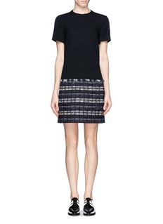 PROENZA SCHOULERTweed skirt shift dress