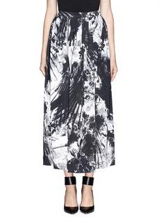 PREEN BY THORNTON BREGAZZIBlackbird print maxi skirt