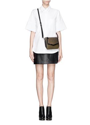 Figure View - Click To Enlarge - Proenza Schouler - Cotton boxy shirt