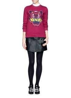 KENZOTiger embroidery sweatshirt