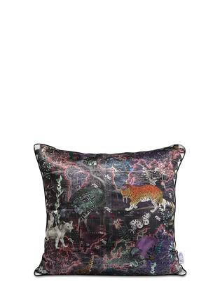 - Kristjana S Williams - Lundunar Kort silk cushion