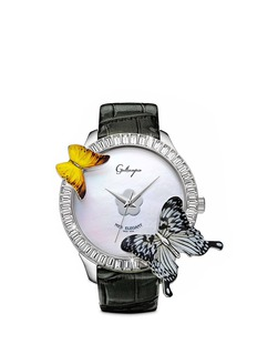 GALTISCOPIO 'Mes Elegant' butterfly crystal watch