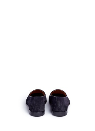 Back View - Click To Enlarge - Doucal's - 'Max' tassel suede loafers
