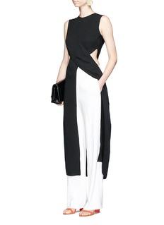 Roksanda'Valda' cutout waist silk empire dress