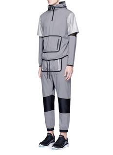 DyneMesh jersey panel jogging pants