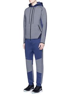DyneColourblock zip-up hoodie
