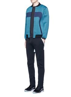 Dyne'Giga Knit' bomber jacket