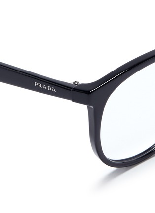 Prada Glasses Frames Vision Express : Prada - Round Acetate Optical Glasses Women Lane Crawford