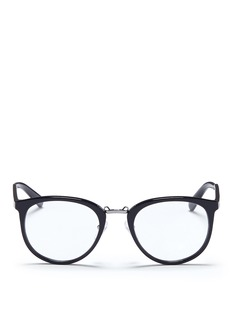 Prada Round acetate optical glasses