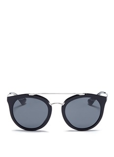 Prada Tortoiseshell effect acetate cat eye sunglasses