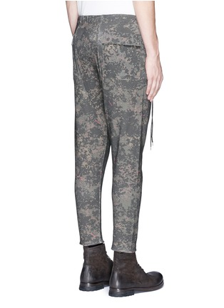 背面 - 点击放大 - DEN IM BY SIKI IM - 数码印花低裆休闲裤