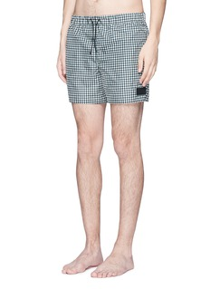 Acne Studios 'Perry' gingham check print swim shorts