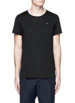'Standard Face' emoji patch cotton T-shirt